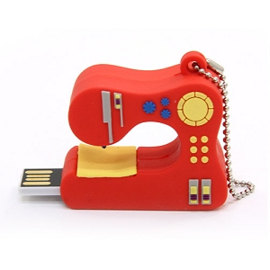 2GB USB thumbdrive Sewing machine